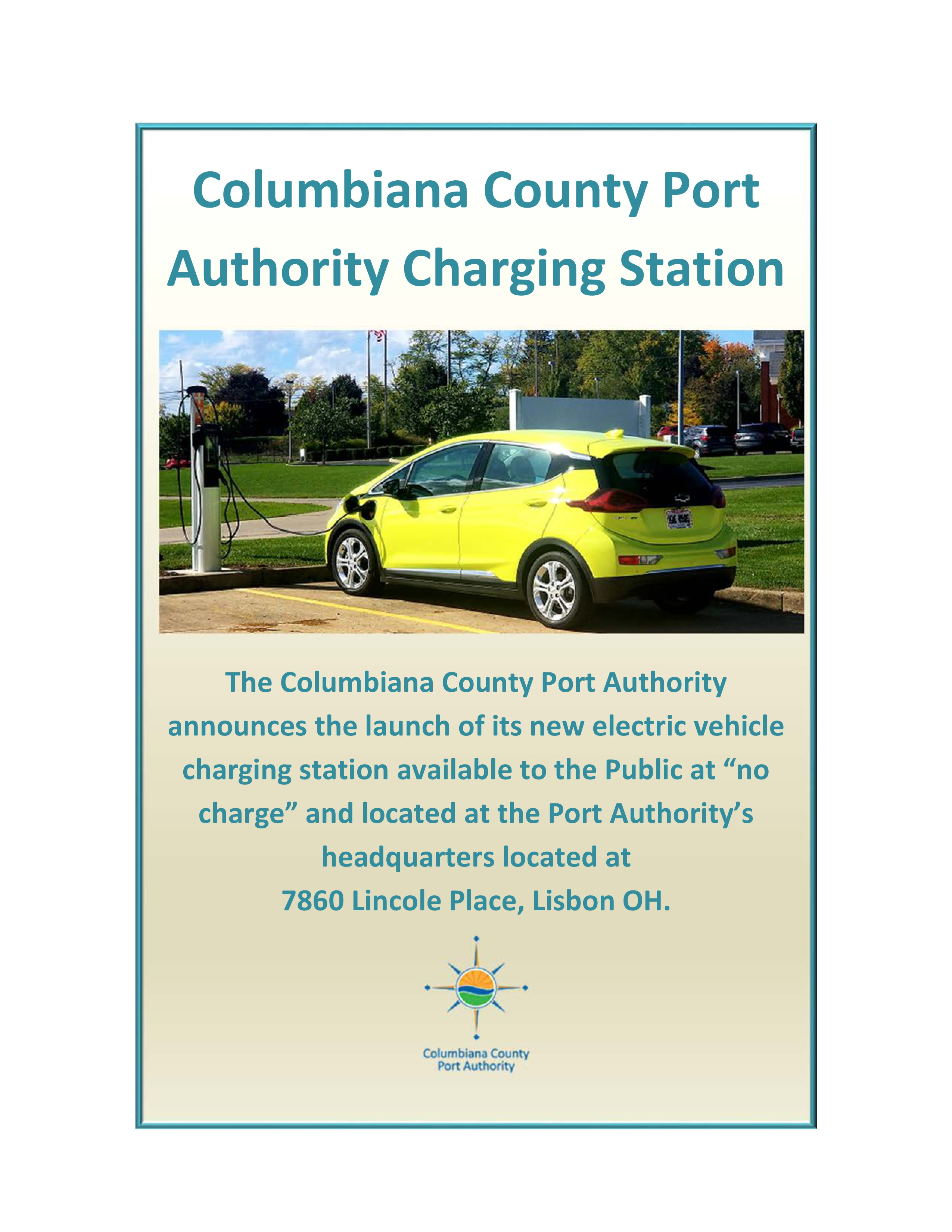 Port Authority Charging Station